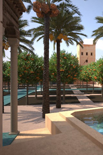 Architecture : Le Jardin Secret Marrakech