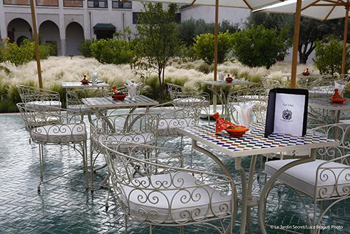 Le jardin secret marrakech eat and drink for Le jardin secret chicha