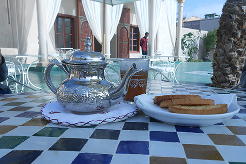 Café : Le Jardin Secret Marrakech